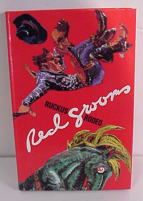 """11: Red Grooms """"Ruckus Rodeo"""" book of  6 sculpto  picto"""
