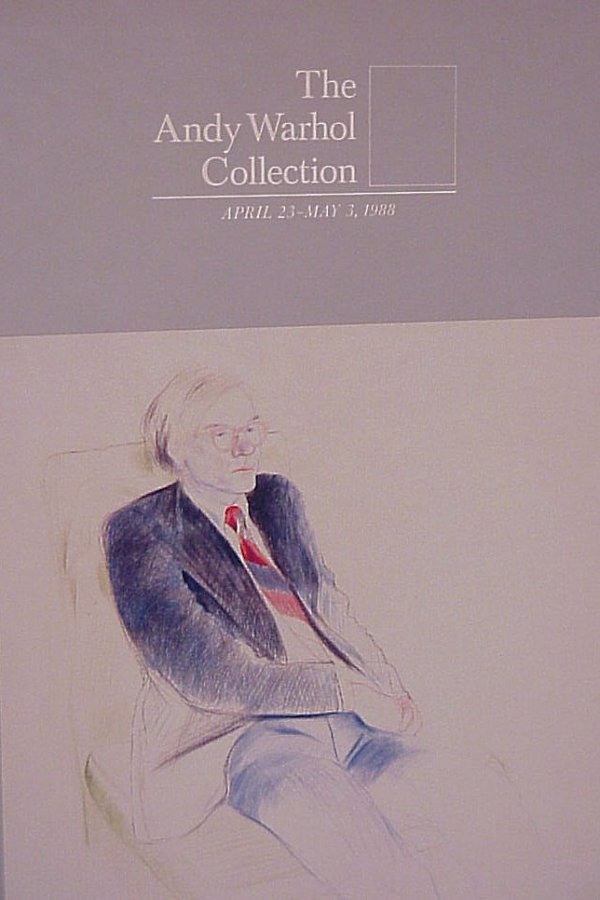 24: Sotheby's 1988 Warhol catalog collection in sleeve