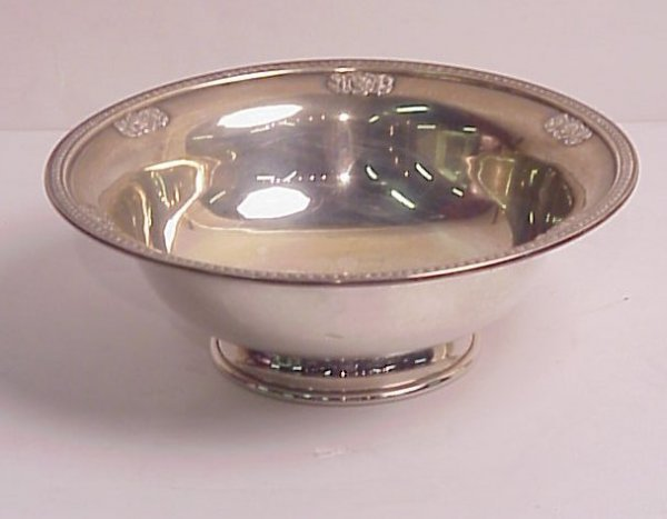 """24: Towle sterling bowl, 9 7/8"""" x 3 1/2"""", 10 ounces"""