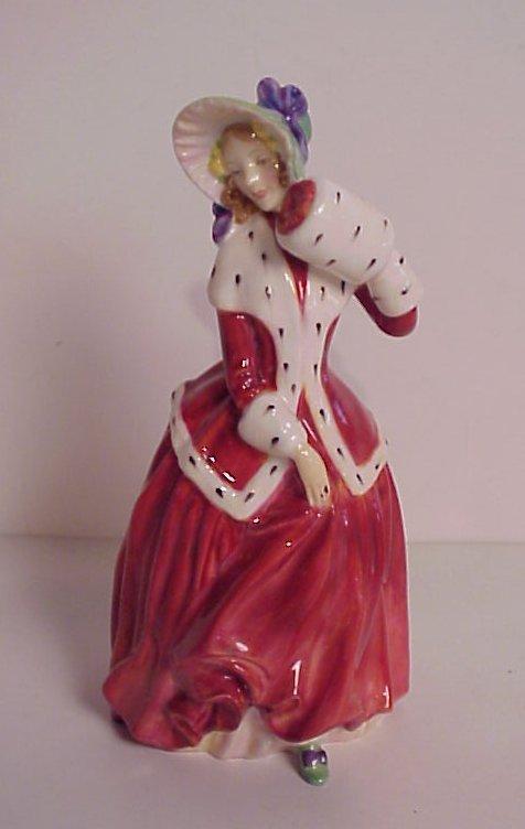 """15: Royal Doulton Christmas Morn figurine, 7 1/2""""h"""