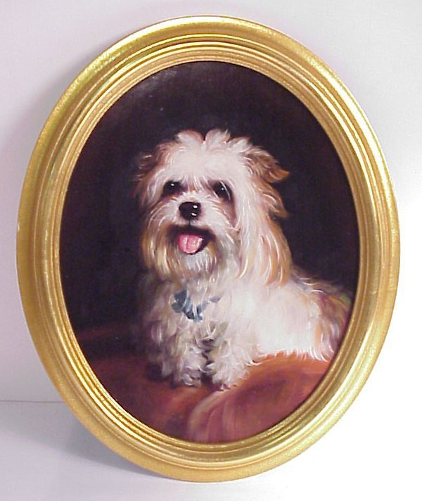 3: Portrait of a West Highland terrier, after Thomas  E