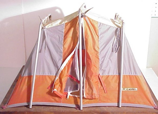 """16A: Tent salesman's sample or store display 21""""h x 26"""""""