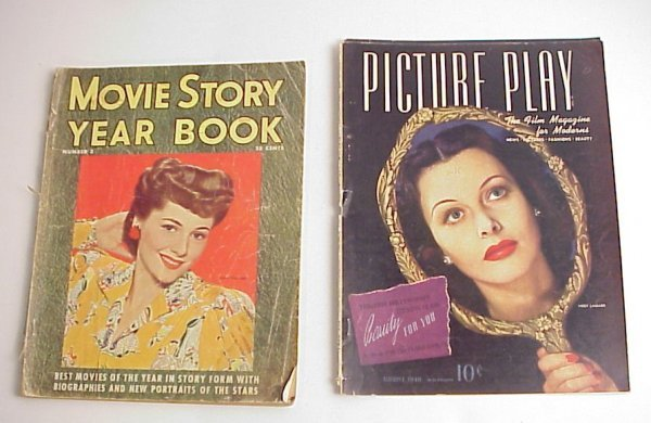 29: Two 1940's Movie Magazines, Movie Star Yearbook   w