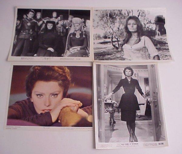 36: LOt (11) Original Sophia Loren Movie photos and  st