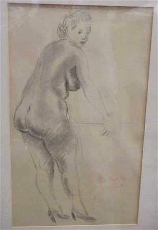R.SOYER (RAPHAEL SOYER, N.A. (1899-1987 NEW YORK,