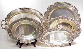 1134 5 REED  BARTON FRANCIS I STERLING SILVER SERVING