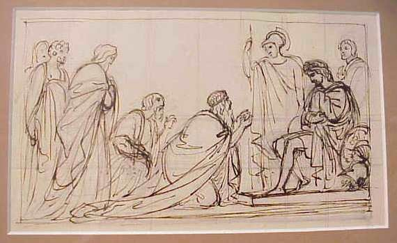 1007: ATTRIBUTED TO ROBERT SMIKE (1752-1845, BRITIAN) C