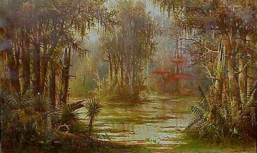 1072: MEYER STRAUS (1831-1905 SAN FRANCISCO, CA) TROPIC