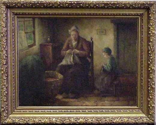 """1087: CLAUS (KLAUS) BERGEN (1885-1964, GERMAN). """"MOTHER - 2"""