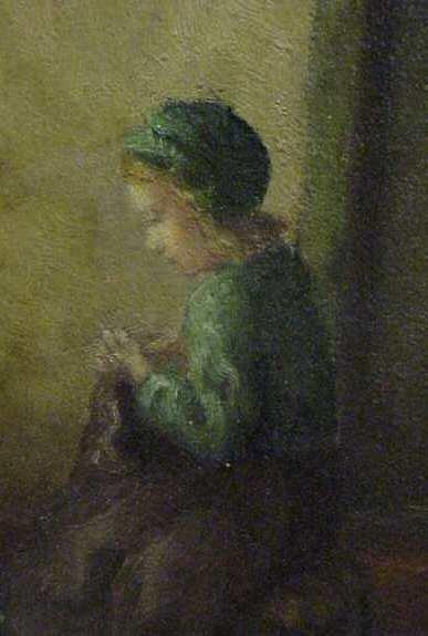 """1087: CLAUS (KLAUS) BERGEN (1885-1964, GERMAN). """"MOTHER - 4"""