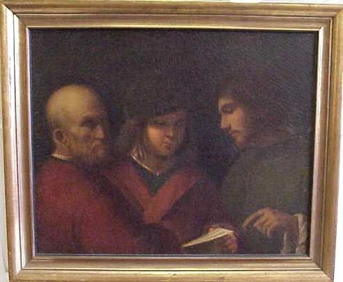 1014: ATTRIBUTED TO THE MASTER OF CASTELFRANCO. ITALIAN