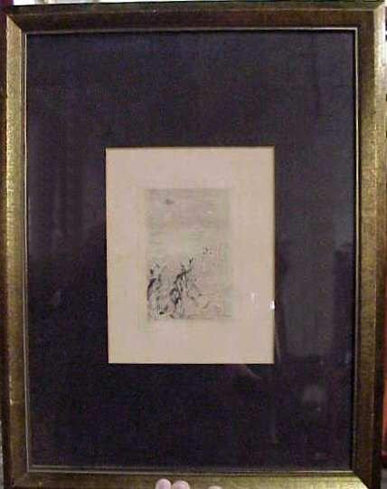 1016: PIERRE AUGUSTE RENOIR (1841-1919 FRANCE) ETCHING,