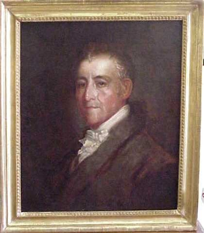 "1024: JOHN JAMES FROTHINGHAM, (1786-1864, AMERICAN). ""P"