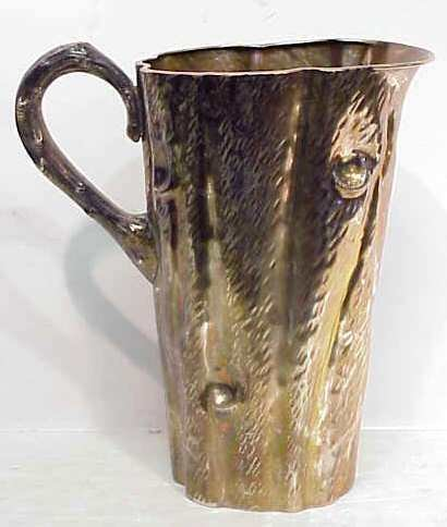 2152: ADLER/AMERICAN;FINE STERLING PITCHER IN THE