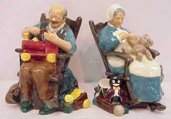 21A: TWO ROYAL DOULTON, THE TOYMAKER & THE NANNY