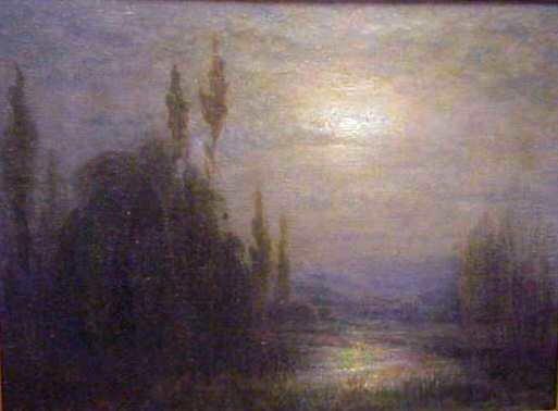 2114: ALFREDO HELSBY (1862-1936, BRITAIN) TWILIGHT LAND