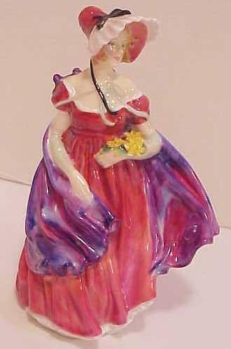 """1029: ROYAL DOULTON LADY APRIL, 1958, 7 1/2""""H"""