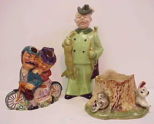 26A: DASIY BELL STAFFORDSHIRE FIGURAL GROUP OF FIGURES