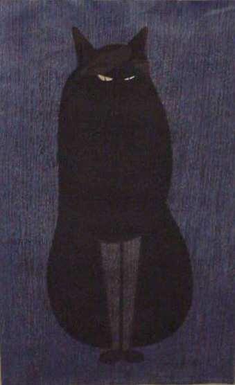 "89: KIYOSHI SAITO (1907-1992, JAPAN) WOODCUT PRINT ""STE"