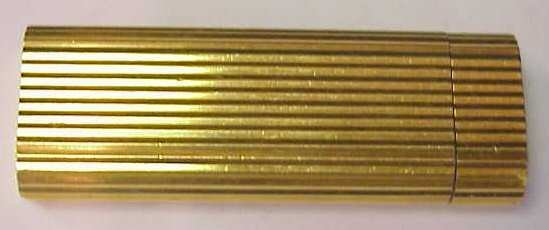 2032: CARTIER DECO STYLE GOLD? LIGHTER, 2 3/4""