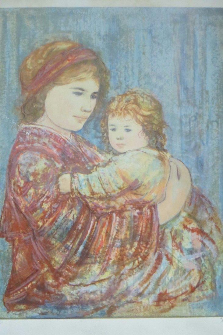 Edna Hibel,original lithograph limited edition 18/347