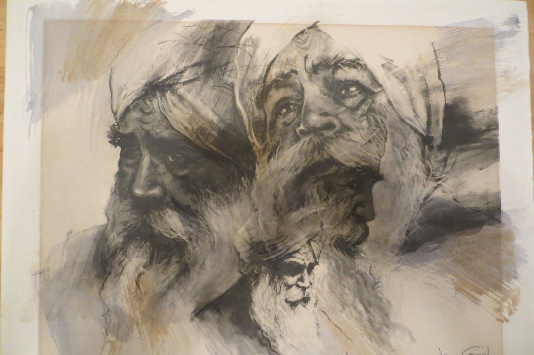 Listed artist Jonas Gerard,38/80 , title Love personifi