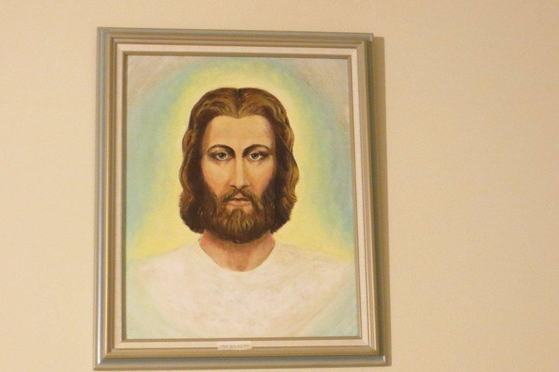D.Fillingham Portrait for Jessus,oil on canvas