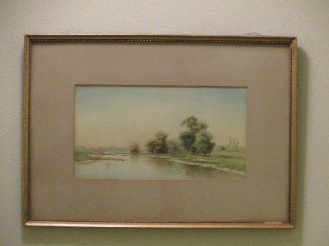 Henri Dele Coeuillerie,(19th century),California artist