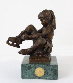 Beginings - Bronze by Dennis Smith
