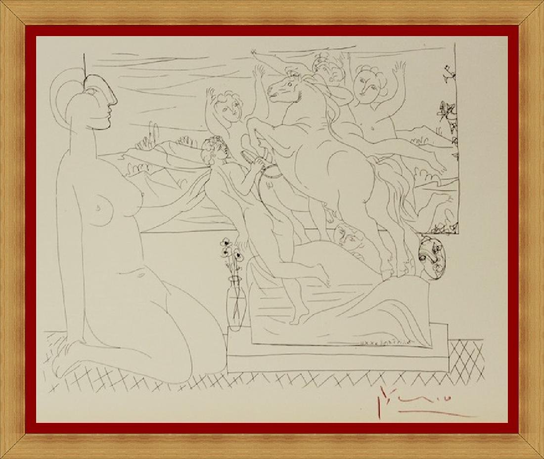Pablo Picasso Lithograph Vollard Collection