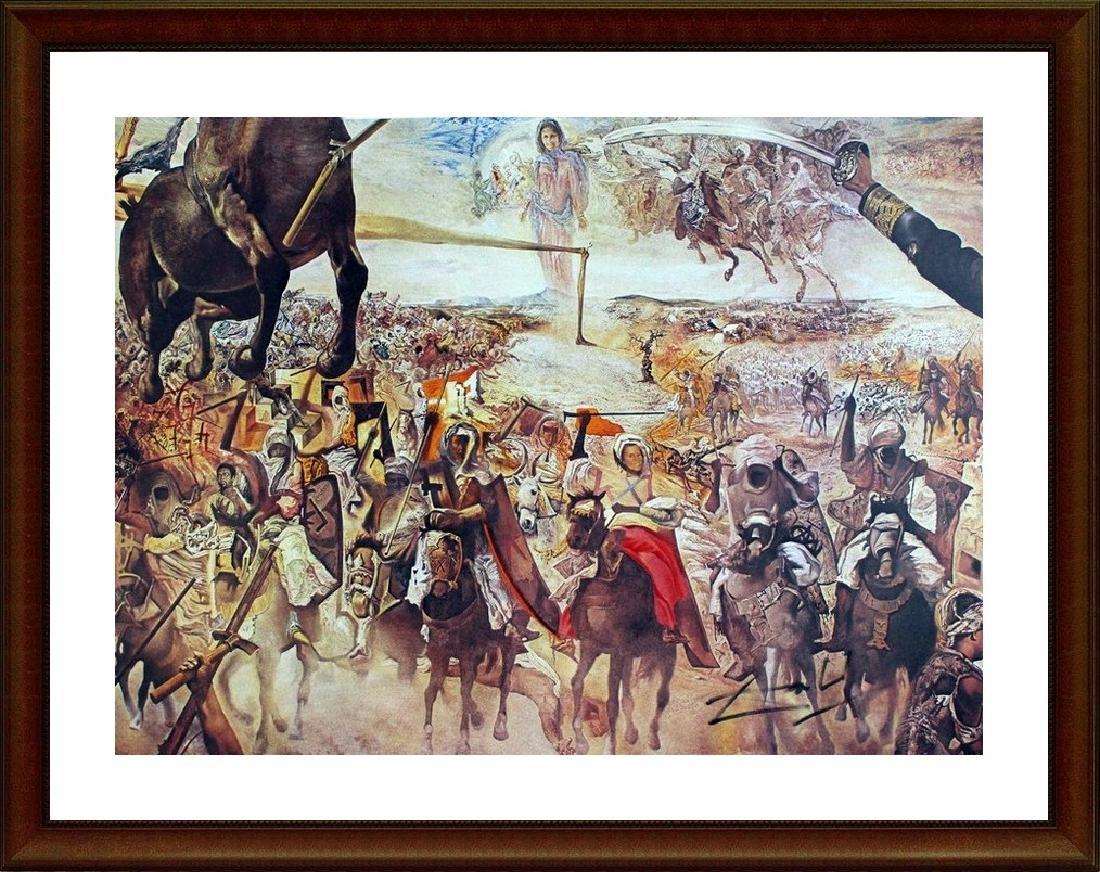 Battle of Tetuan - Salvador Dali