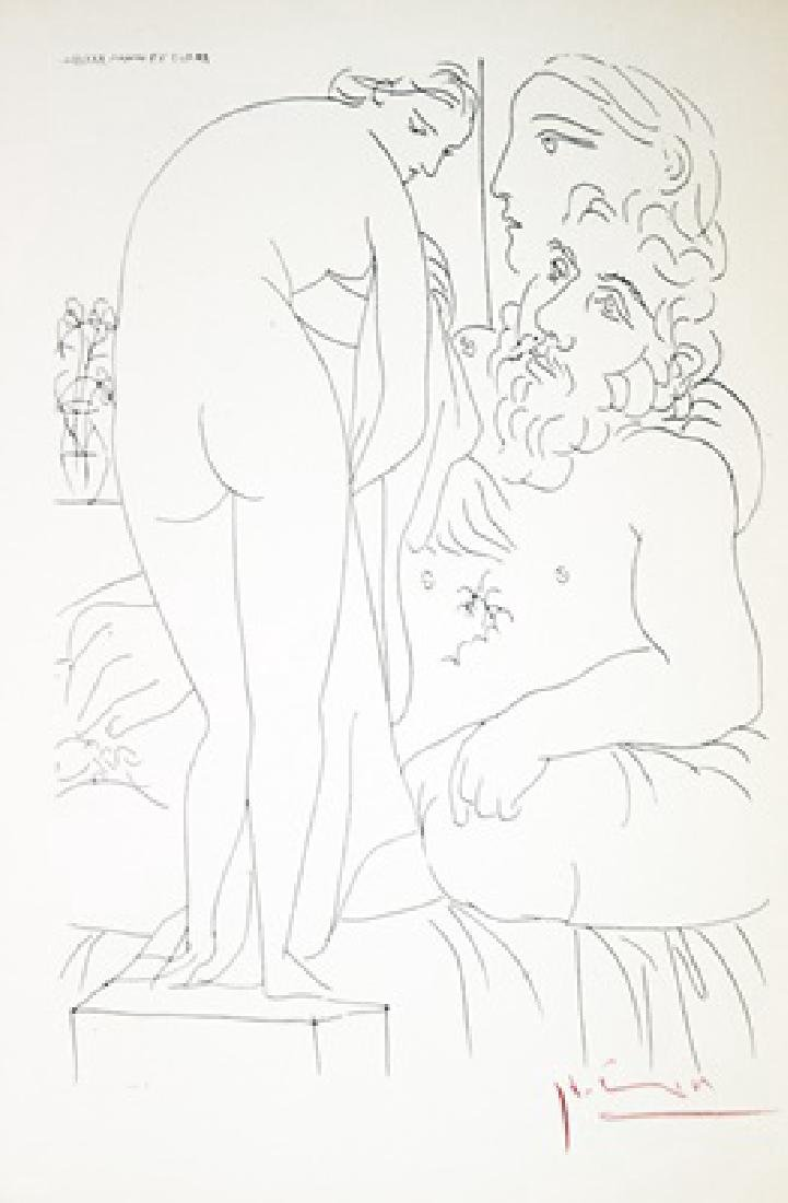 Pablo Picasso Lithograph Vollard Collection - 2