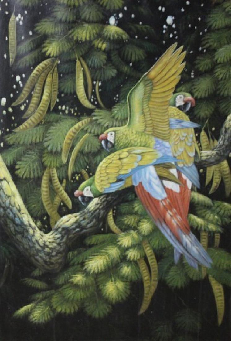Macaws by R. Ernst  49x37 - 2