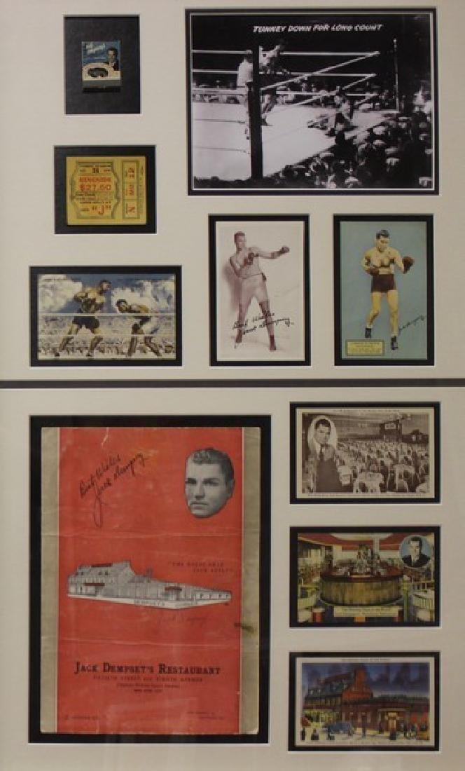 Jack Dampsey Boxing Memorabilia - 2