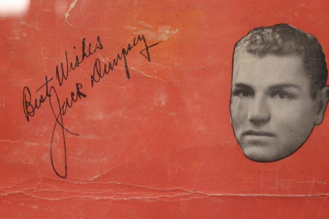 Jack Dampsey Boxing Memorabilia - 3