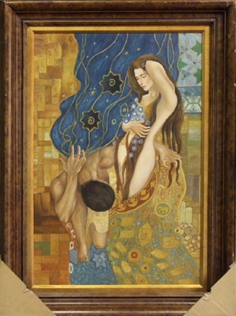 Original Painting on Canvas 45x33