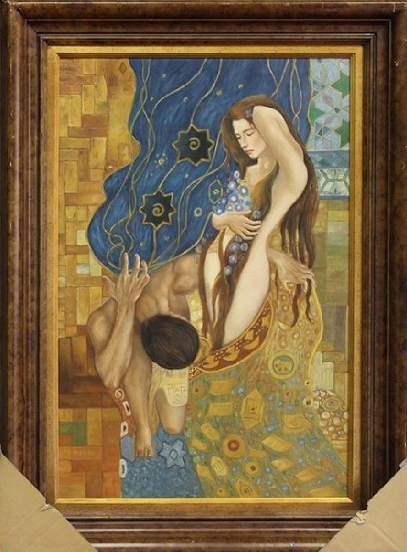 Original Painting on Canvas 45x33 - 2