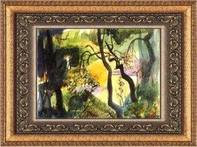 Beautiful Watercolor Painting - Robert Ellis