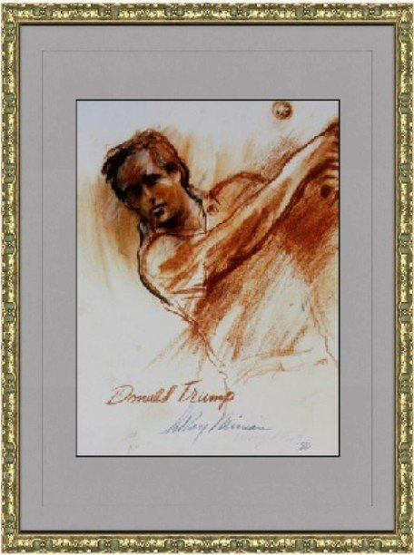 Donald Trump by LeRoy Neiman