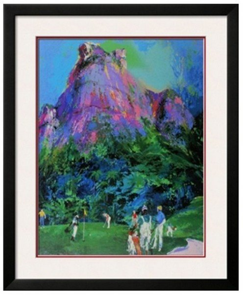 Signed LeRoy Neiman Lithograph International Foursome