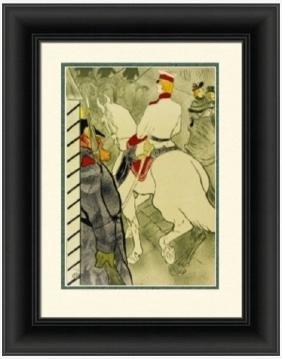 Lithograph  Toulouse Lautrec