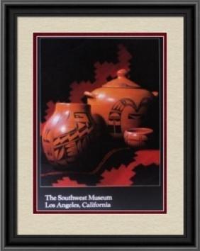 Hopi Indian Pottery Poster