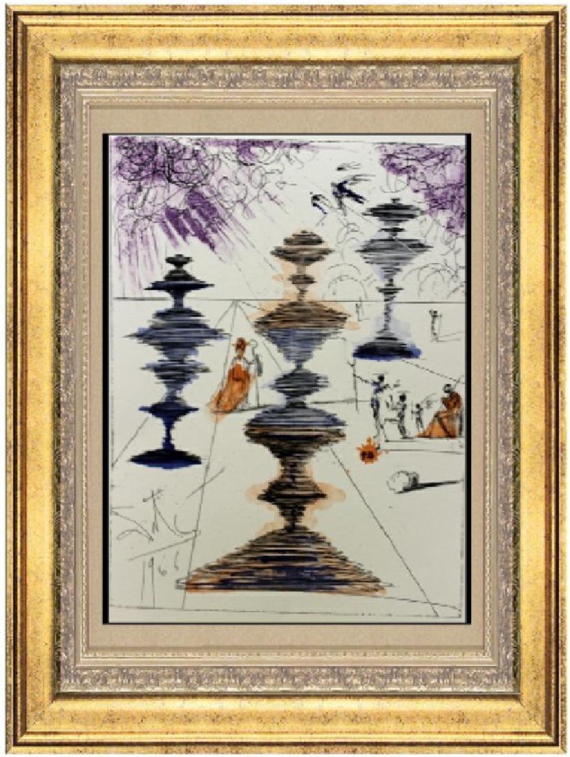 Original Signed Lithograph by Salvador Dali