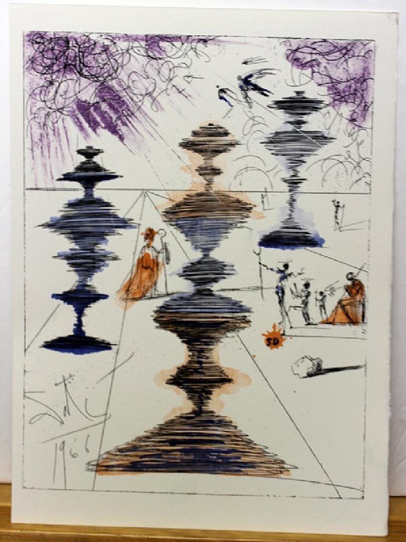 Original Signed Lithograph by Salvador Dali - 2
