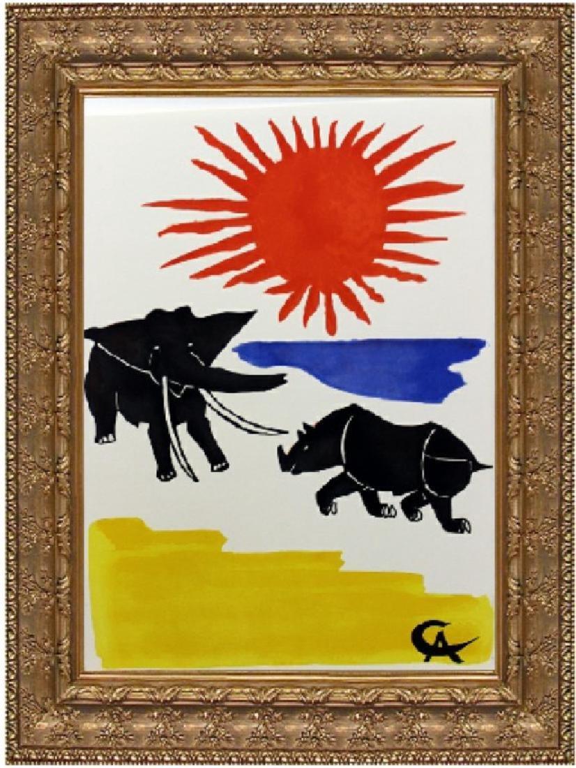 Original Signed Lithograph by Alexander Calder