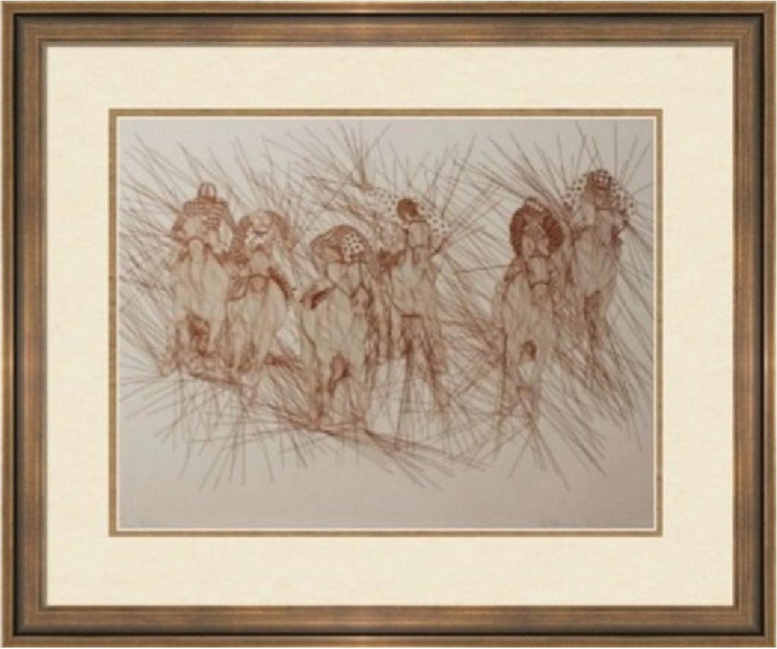 Hand Signed Numbered Etch Azoulay