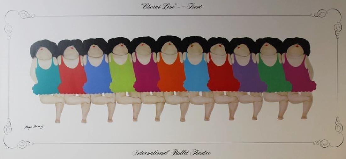 Chorus Line (Front) by Barys Buzkij