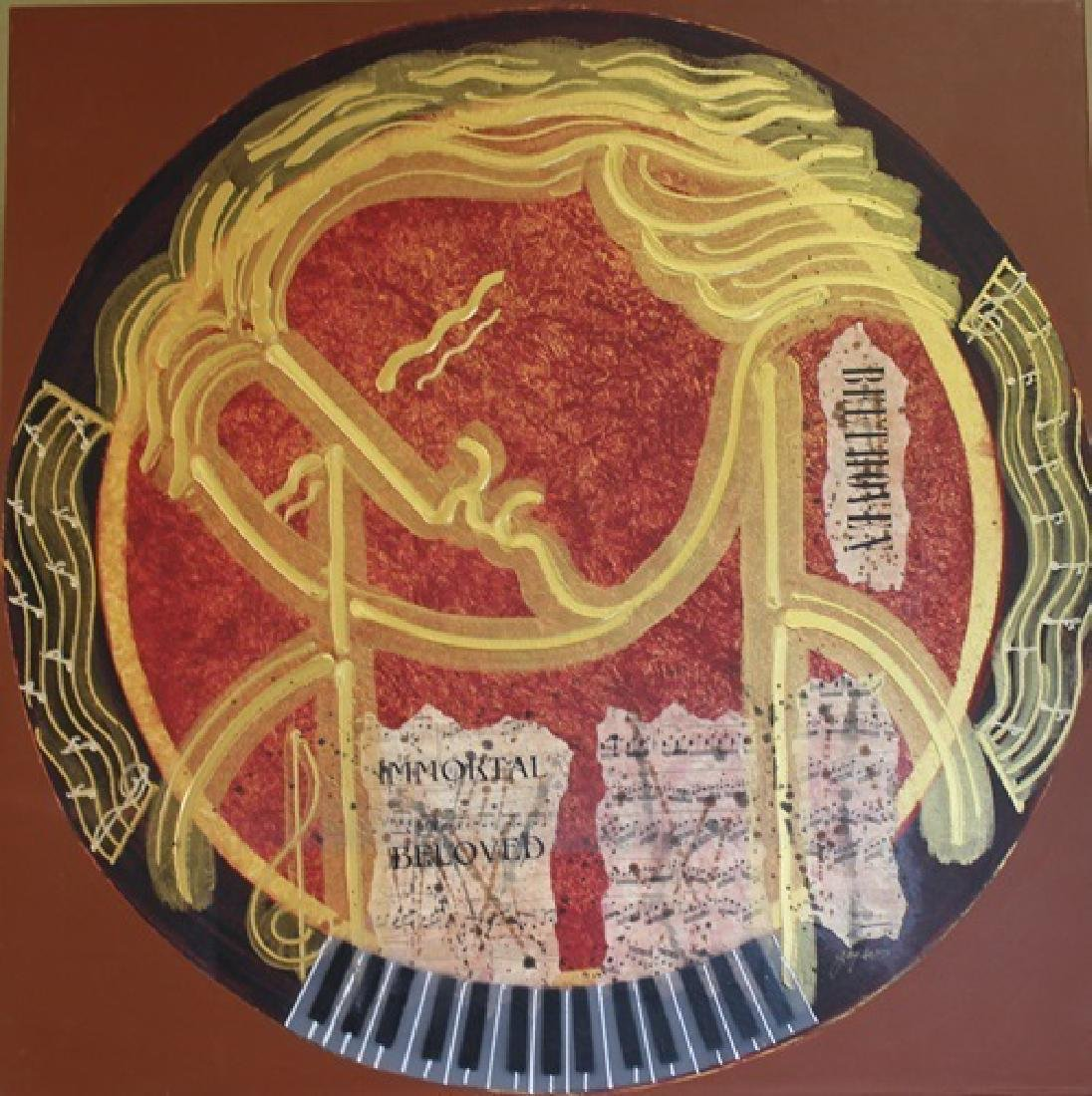 Beethoven- Original Painting by Gaylord
