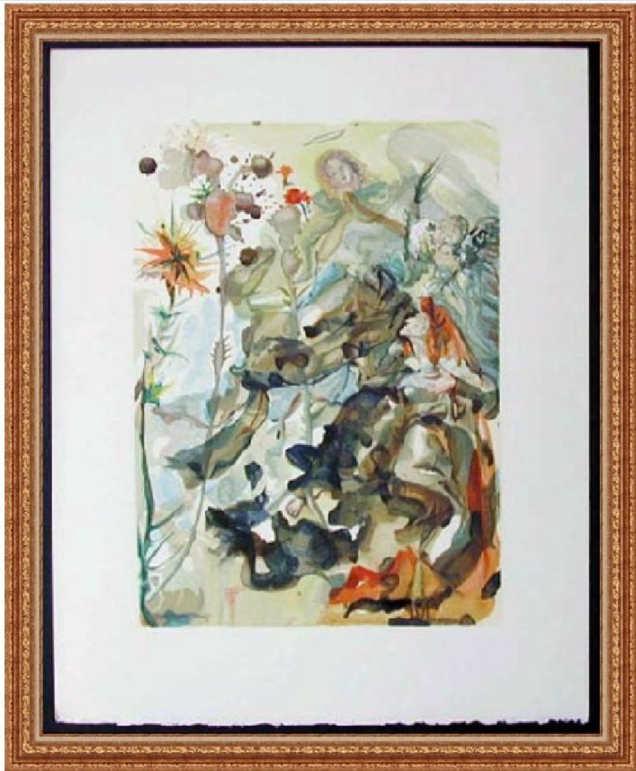 Salvador Dali Woodblock - The Apparition of St. James