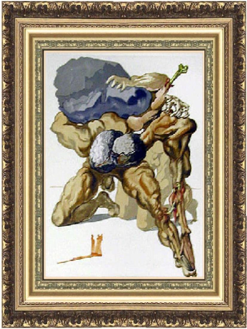 Salvador Dali Woodblock - The Avaricious and the